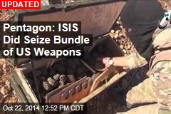 ISIS: We Have US-Dropped Supplies