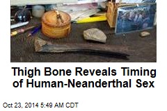 45K-Year-Old Bone Spills Beans on Human-Neanderthal Sex
