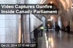 Video Captures Gunfire Inside Canada Parliament
