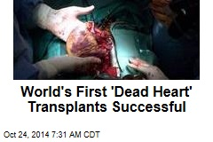 World's First 'Dead Heart' Transplants Successful