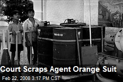 Court Scraps Agent Orange Suit