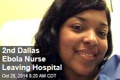 2nd Dallas Ebola Nurse Leaving Hospital