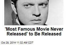 Unfinished Orson Welles Film Now Nearly Finished