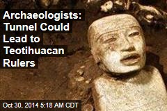 Sacred Mexico Tunnel Yields 50K Relics