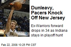 Dunleavy, Pacers Knock Off New Jersey