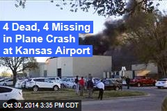 Small Plane Crashes at Kansas Airport