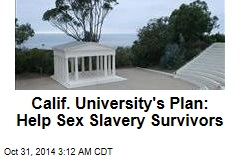 Sex Slavery Survivors Offered Scholarship