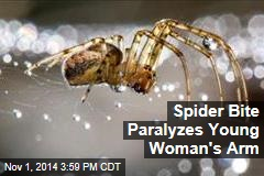 Spider Bite Paralyzes Young Woman's Arm
