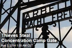 Thieves Make Off With Dachau Gate