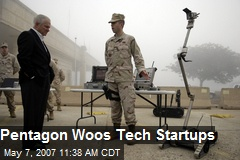 Pentagon Woos Tech Startups