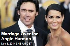 Marriage Over for Angie Harmon