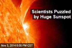 'Dangerous' Sunspot Puzzles Scientists