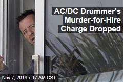AC/DC Drummer's Murder-for-Hire Charge Dropped