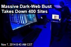 Massive Dark-Web Bust Takes Down 400 Sites