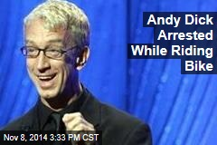 Andy Dick Arrested While Riding Bike