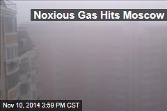 Noxious Gas Hits Moscow