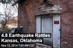 4.8 Earthquake Rattles Kansas, Oklahoma