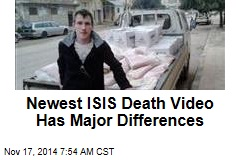 Latest ISIS Death Video Has Major Differences