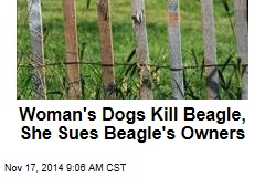 Woman's Dogs Kill Beagle, She Sues Beagle's Owners