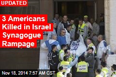 4 Killed in Israel Synagogue Rampage