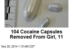 104 Cocaine Capsules Removed From Girl, 11