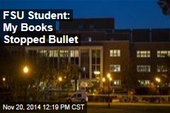 FSU Student: My Books Stopped Bullet