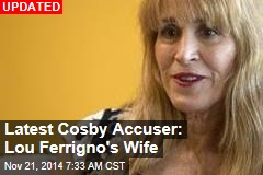 Latest Cosby Accuser: Lou Ferrigno's Wife