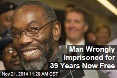 Man Wrongly Imprisoned for 39 Years Now Free