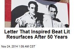 Letter That Inspired Beat Lit Resurfaces After 50 Years