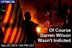 Of Course Darren Wilson Wasn't Indicted