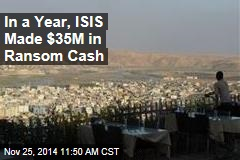 In a Year, ISIS Made $35M in Ransom Cash