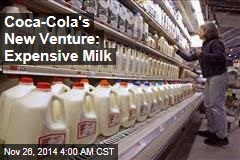 Coca-Cola's New Venture: Milk?