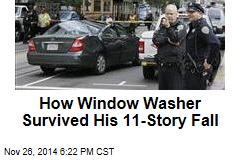 How Window Washer Survived His 11-Story Fall