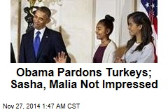 Obama Grants 'Amnesty' to Turkeys
