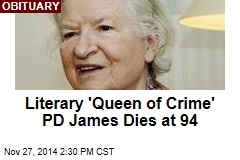 Literary 'Queen of Crime' PD James Dies at 94