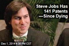 Steve Jobs Has 141 Patents —Since Dying