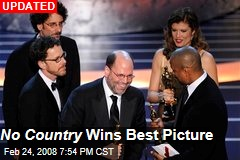 No Country Wins Best Picture