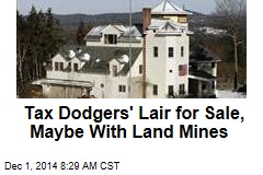 Tax Dodgers' Lair for Sale, Maybe With Land Mines