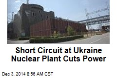 Short Circuit at Ukraine Nuclear Plant Cuts Power