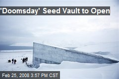 'Doomsday' Seed Vault to Open