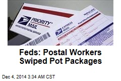 Feds: Postal Workers Helped Themselves to Pot Packages
