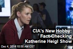 CIA's New Hobby: Fact-Checking Katherine Heigl Show