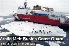 Arctic Melt Busies Coast Guard