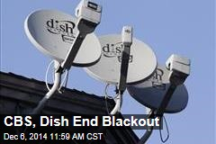 CBS, Dish End Blackout