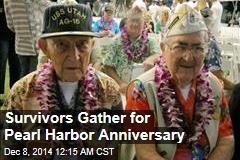 Survivors Gather for Pearl Harbor Anniversary