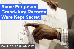 Some Ferguson Grand-Jury Records Were Kept Secret