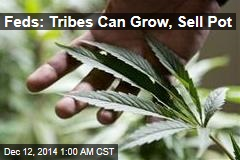 Feds: Tribes Can Grow, Sell Pot