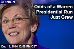 Odds of a Warren Presidential Run Just Grew