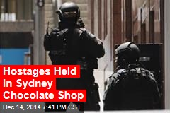 Hostages Held in Sydney Chocolate Shop