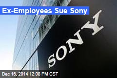 Ex-Employees Sue Sony